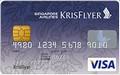 クリスフライヤーVISA一般カード券面