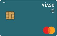 VIASOカード(ピーコックグリーン)